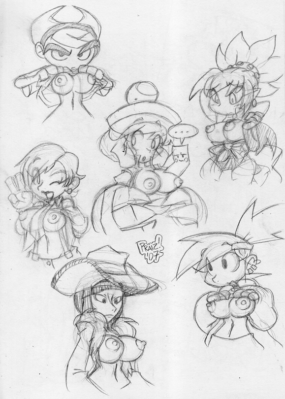 for friends foster's imaginary home berry Pokemon sun and moon blue hair girl