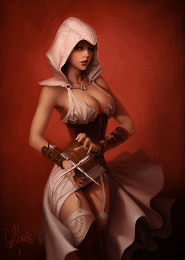 assassin's women topless creed origins Clash of clans archer queen naked