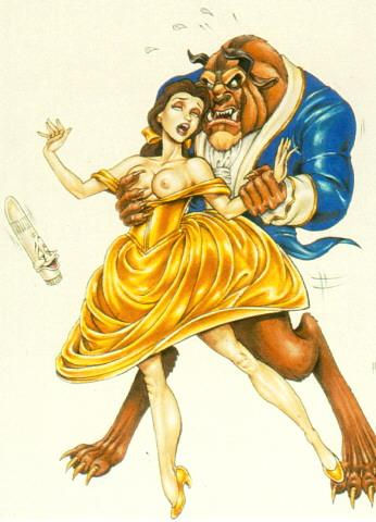 and beauty beast naked the belle Kiss-x-sis