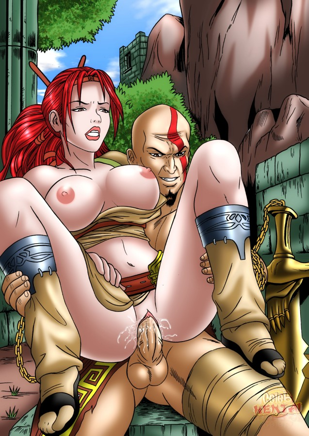 war fate 2 of sisters god of Ass to mouth anal gif