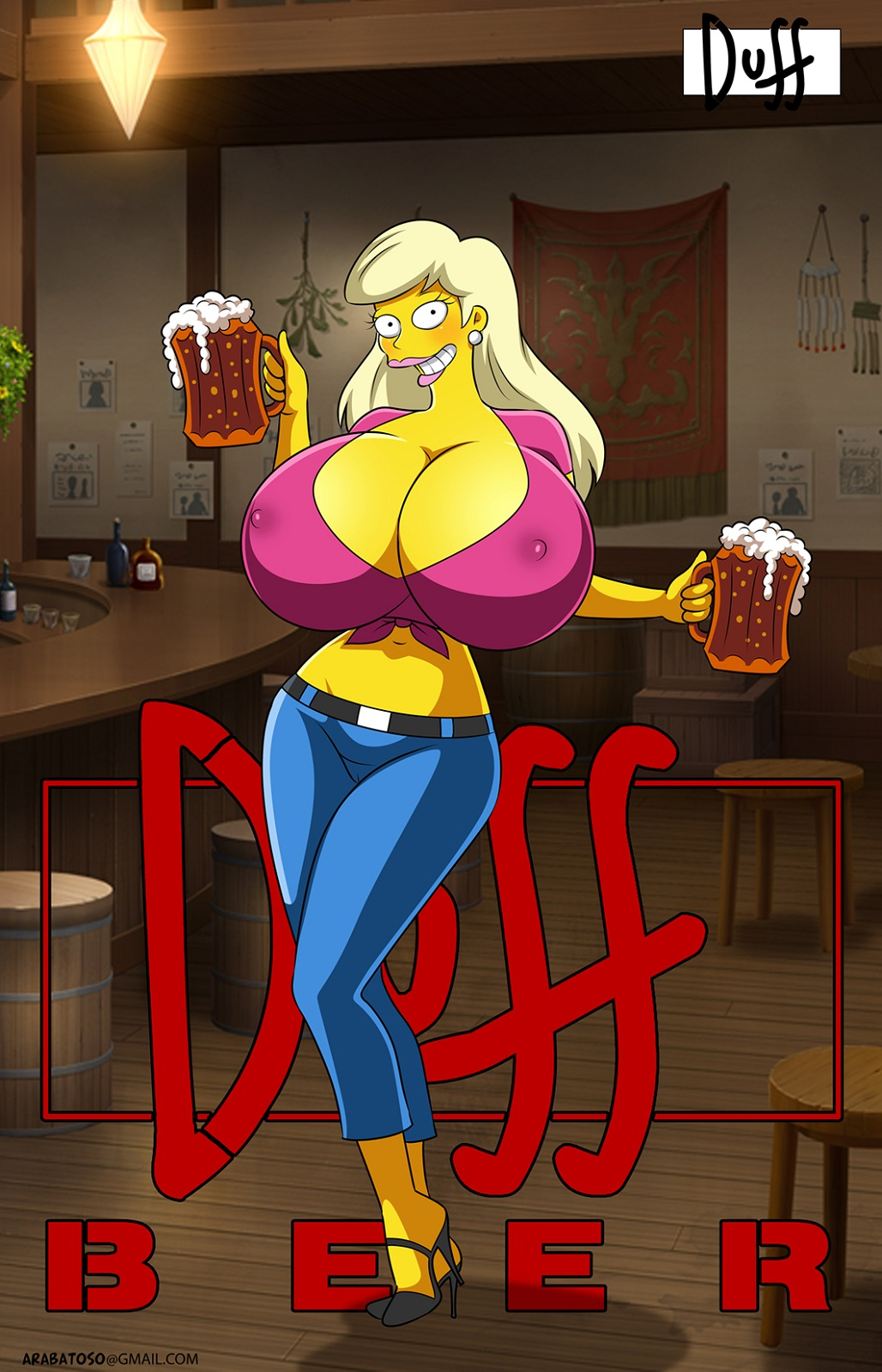 marge from the simpsons naked Kassandra assassin's creed