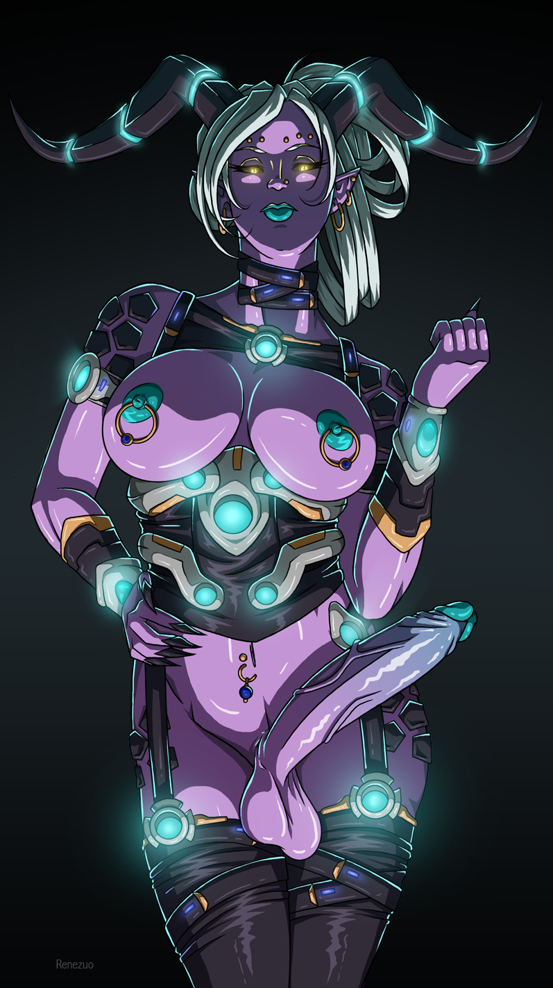futa trials space in tainted 3d girl raped by monster