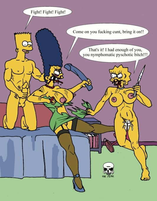 with simpson bart marge naked Left 4 dead hunter and witch
