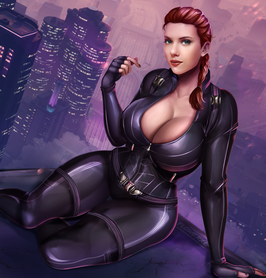 porn black widow spiderman and Chad kensington friday the 13th