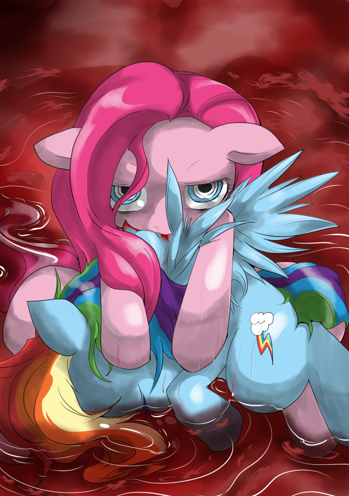 dash pinkie vs rainbow pie The marionette five nights at freddy's