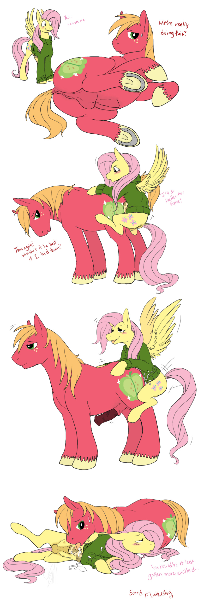 and mac fluttershy mlp big Why is amaterasu a wolf