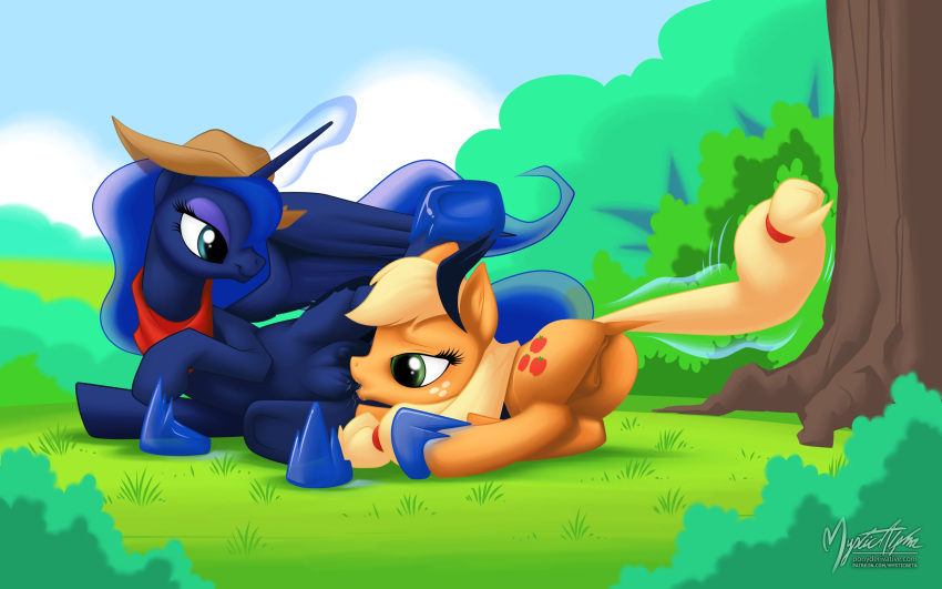 applejack pony my hentai little Press heart to continue dodger