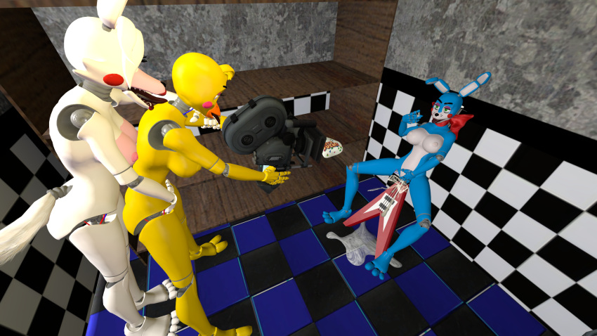 toy and chica fnaf bonnie toy The legend of krystal vg