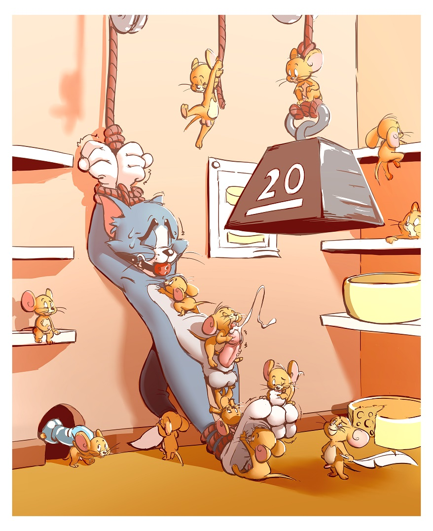 jerry and jerry mouse tom What is a submissive male